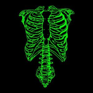 Nigel Tufnel Green Skeleton Spinal Tap T Shirt