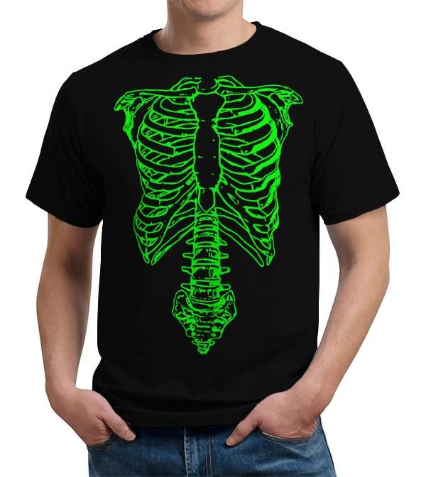 Nigel Tufnel Green Skeleton Spinal Tap T Shirt Image2
