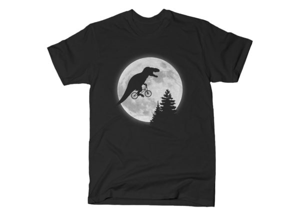 T Rex ET Bicycle Moon T Shirt
