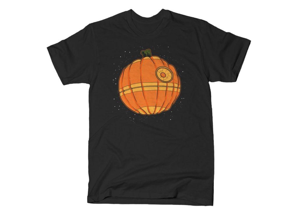 Thats No Pumpkin Star Wars Death Star T Shirt