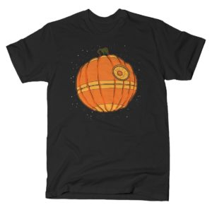 Thats No Pumpkin Star Wars Death Star T Shirt