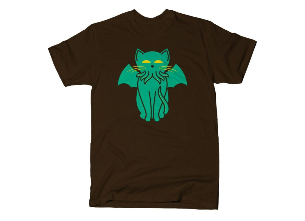 The Call of Cathulhu T Shirt