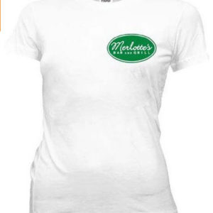True Blood Merlottes Bar and Grill Juniors T shirt